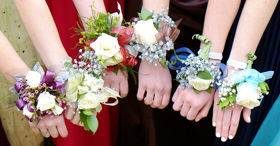 prom flowers corsages