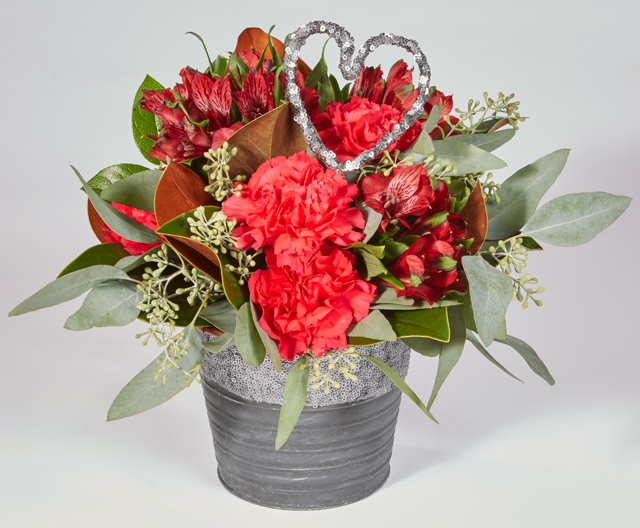 Oasis Valentines Day Floral Arrangement