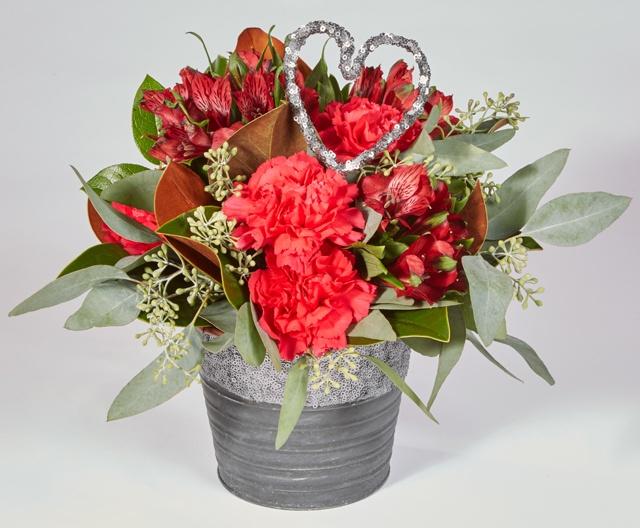 Oasis Valentines Day Floral Arrangement